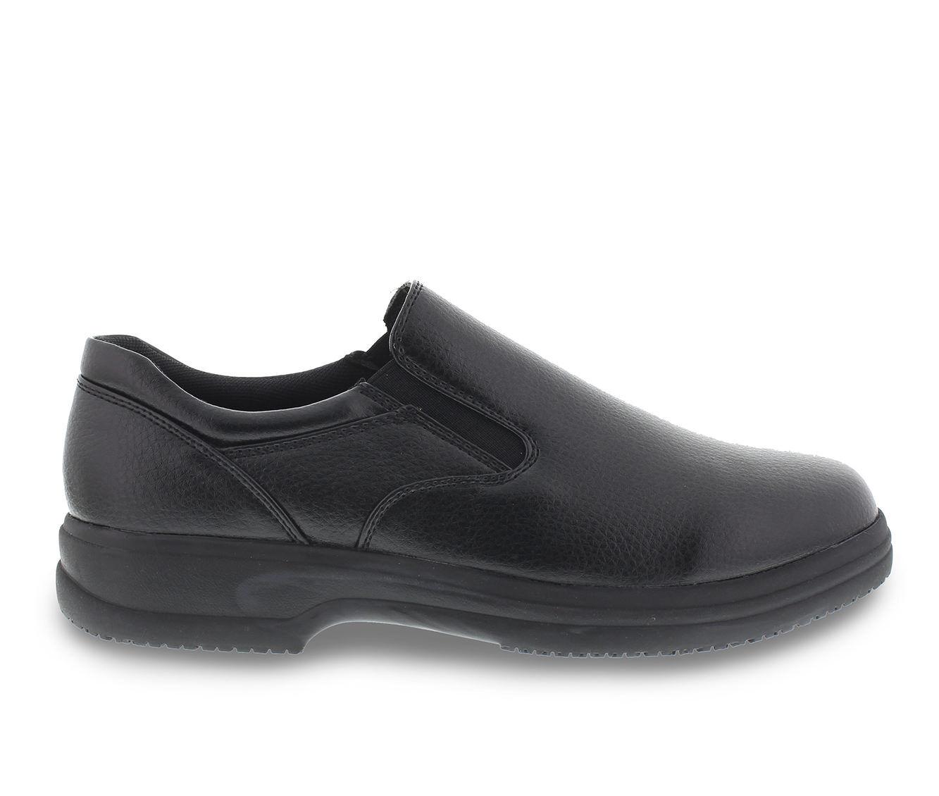 Men's Deer Stags Manager Slip-Resistant Safety Shoes Black