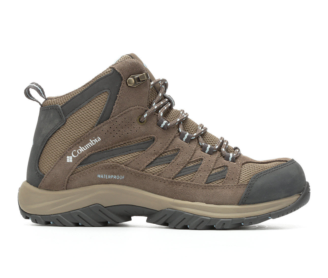 Women's Columbia Crestwood Mid WP Hiking Boots Pebble/Oxygen