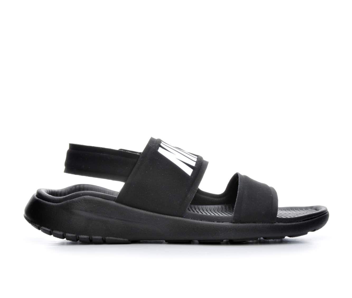 Women's Nike Tanjun Sandal Sport Sandals Black/White