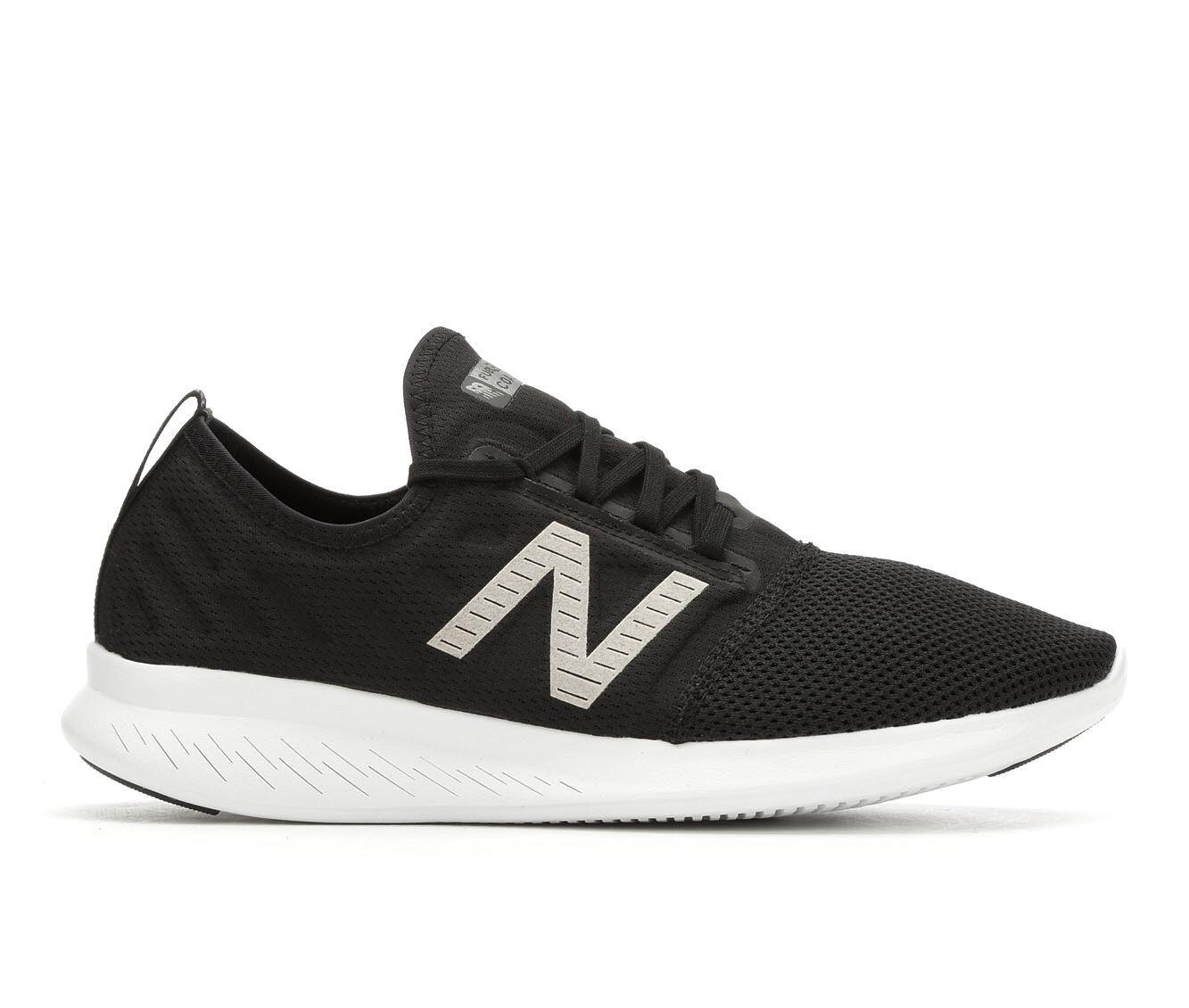 Men's New Balance Coast 4 Running Shoes Blk/Wht