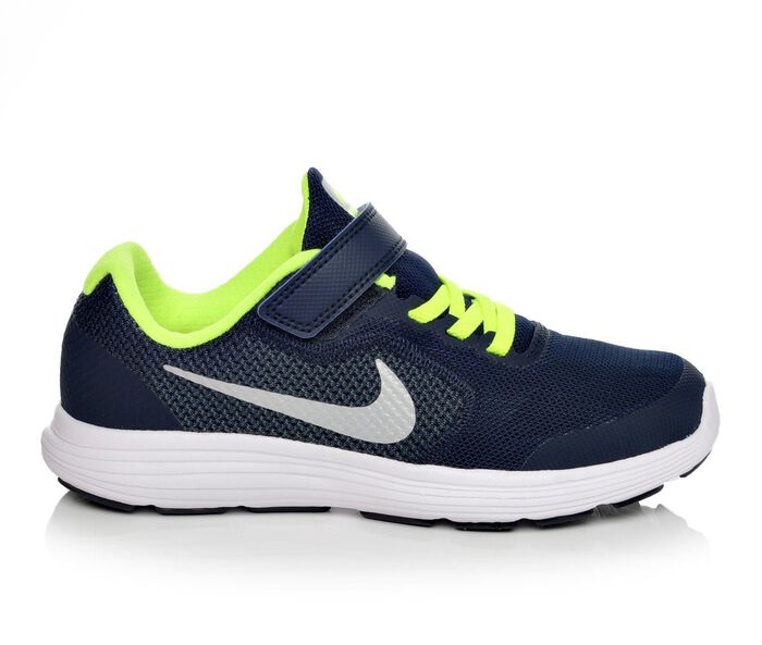 Boys' Nike Revolution 3 10.5-3 Running Shoes