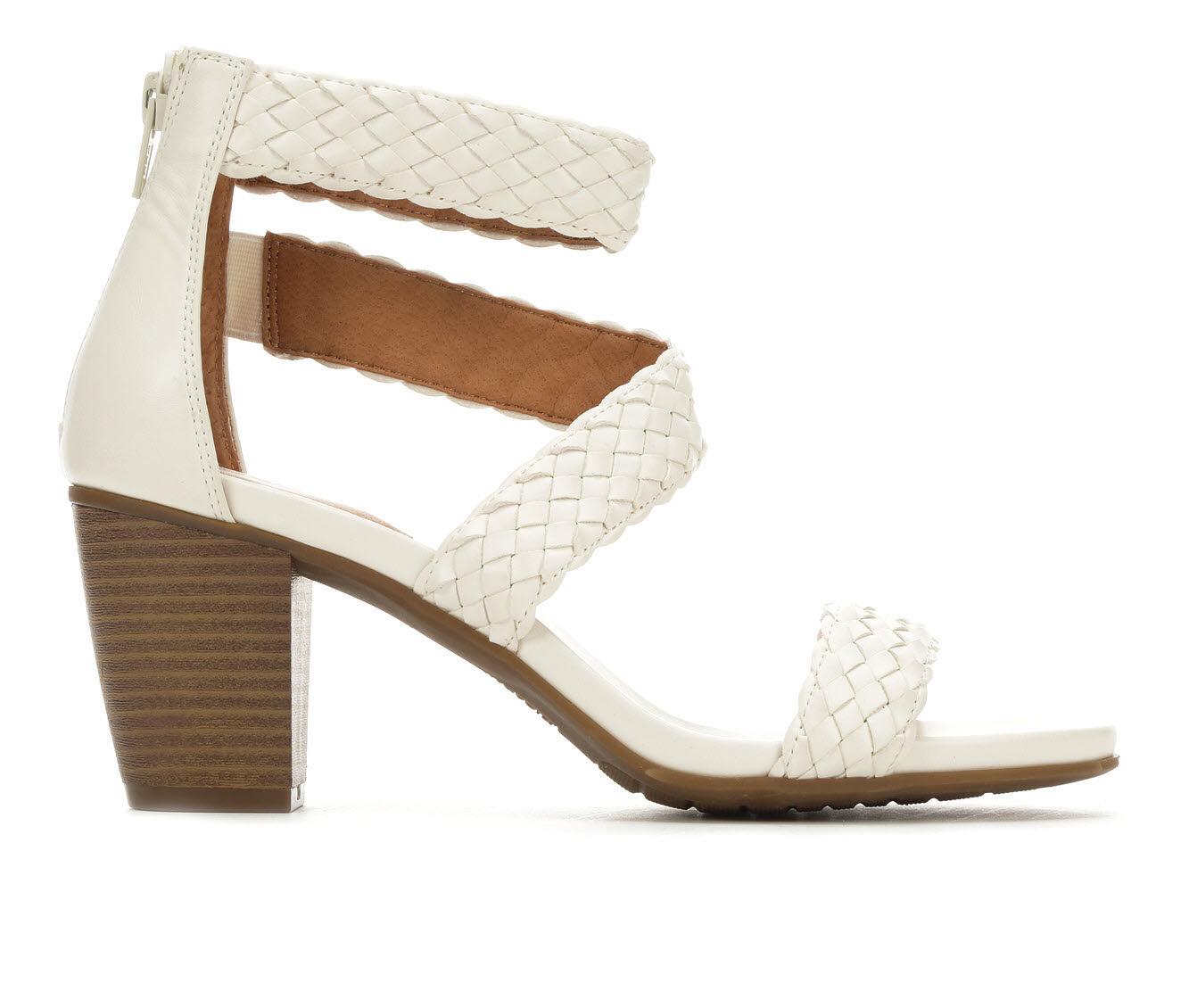 Adorable Women's White Mountain Sundown Dress Sandals White