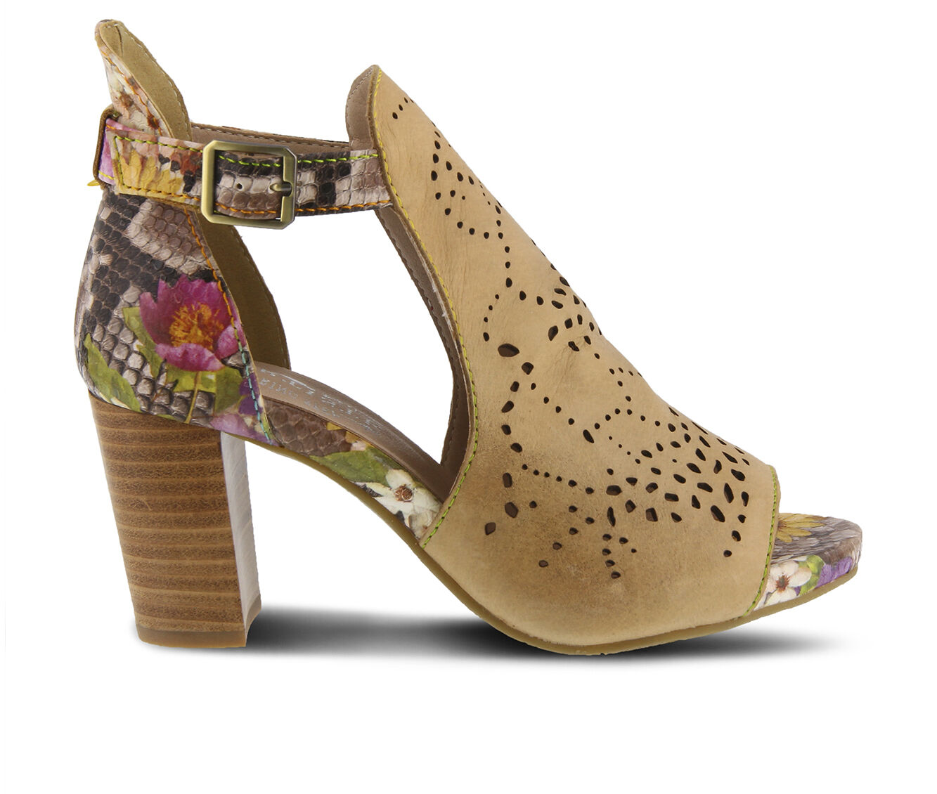 a large collections of Women's L'ARTISTE Lashonie Booties Tan Multi