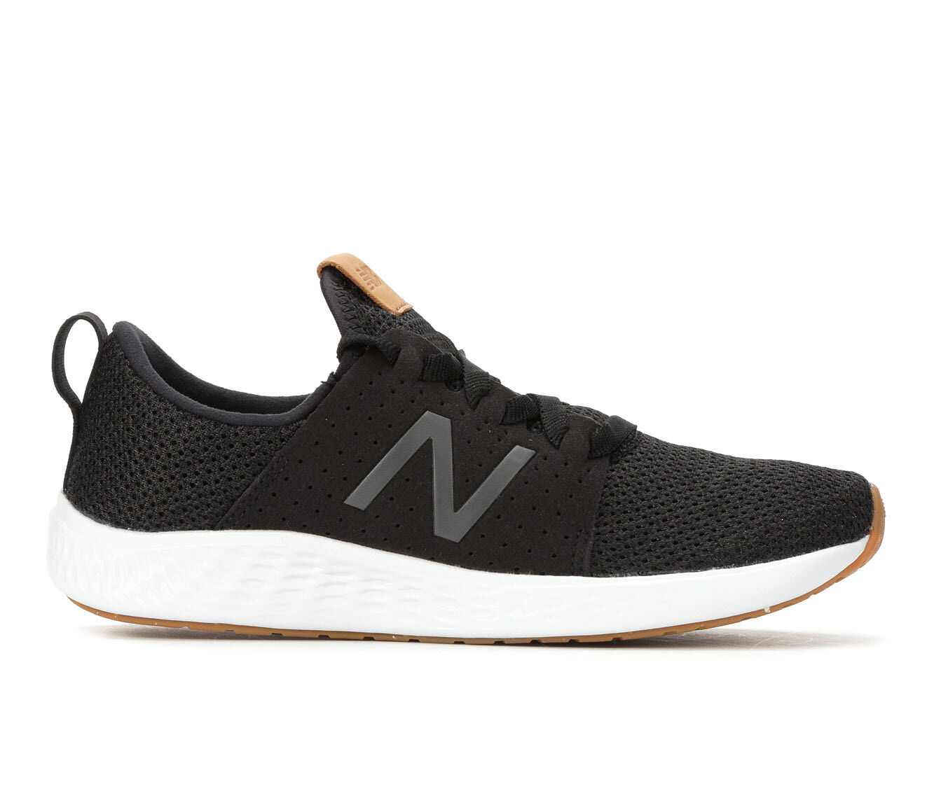 summer offer Women's New Balance Fresh Foam Sport Sneakers Black/Wht/Gum