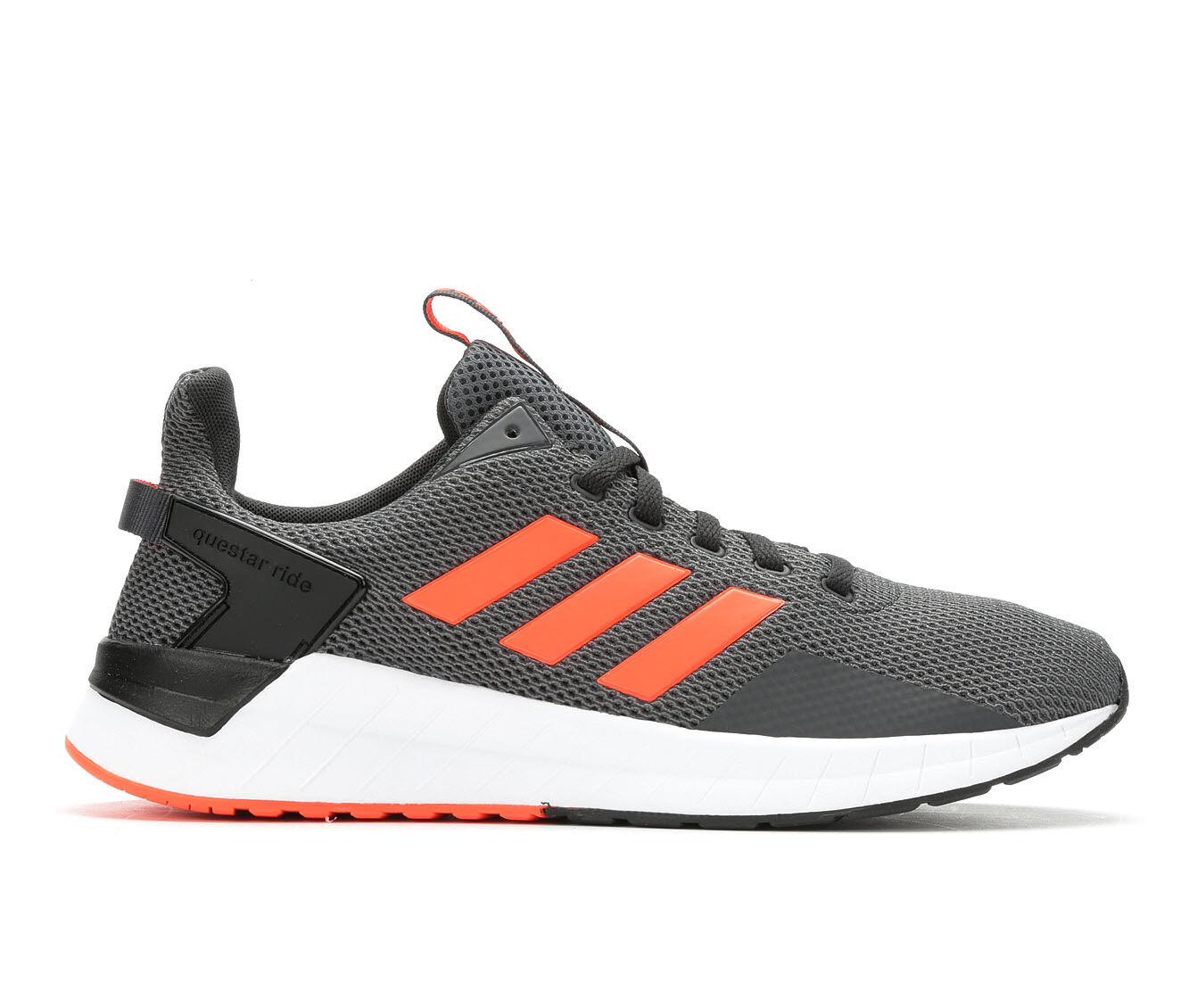 New arrival online Adidas Questar orange white women s shoes US 7 8 8 5 9 5 10 11 12 13