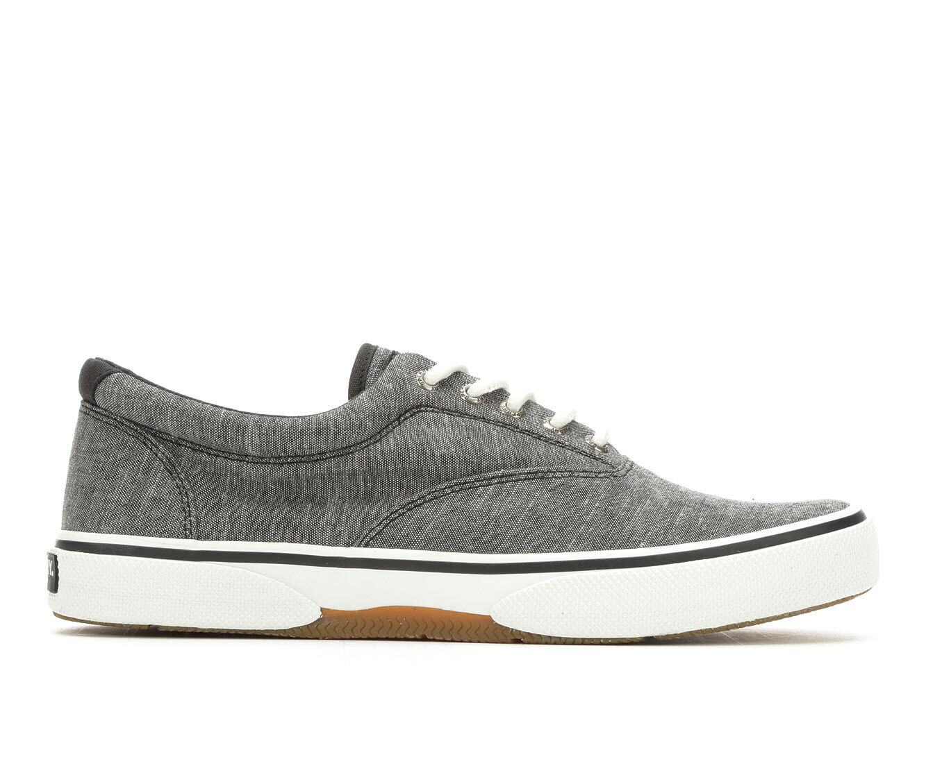 Big Discount Men's Sperry Halyard Laceless Casual Shoes Black
