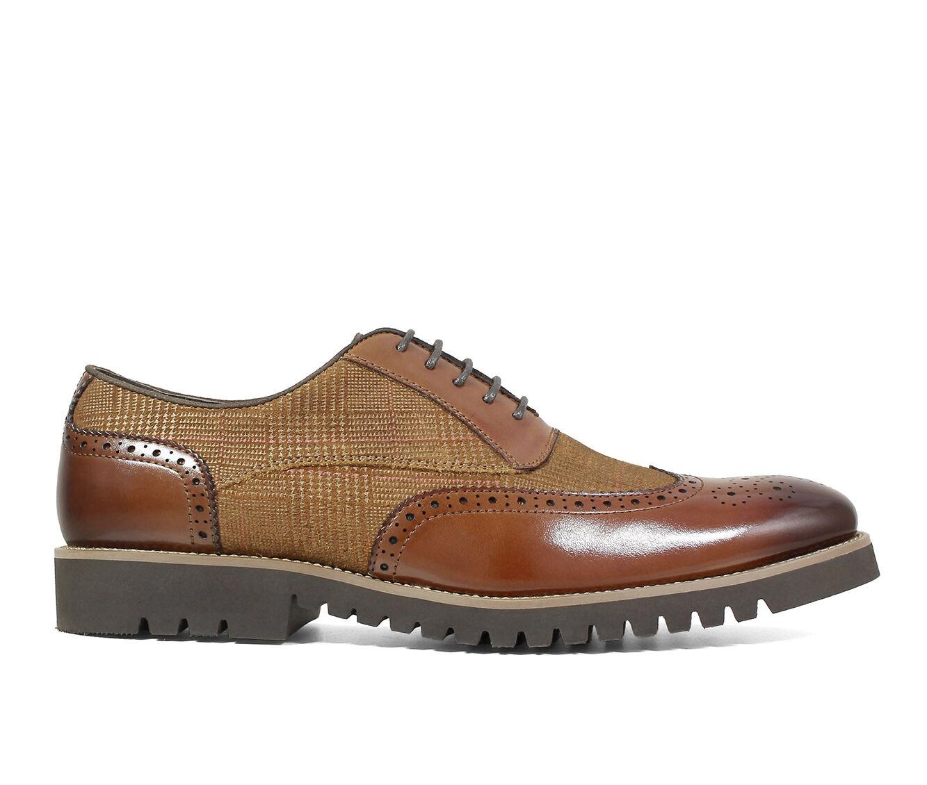 latest series Men's Stacy Adams Baxley Dress Shoes Cognac