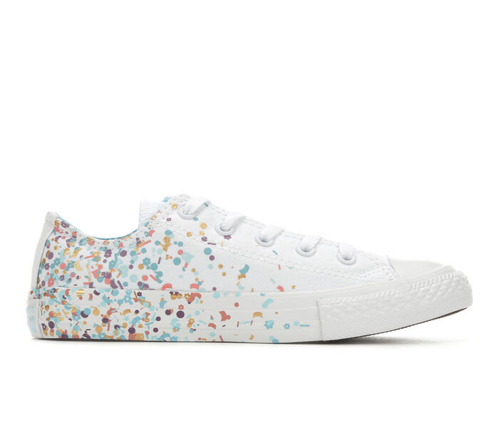 a85b028a2bf26b Girls  Converse Chuck Taylor All Star Confetti Oxford Sneakers