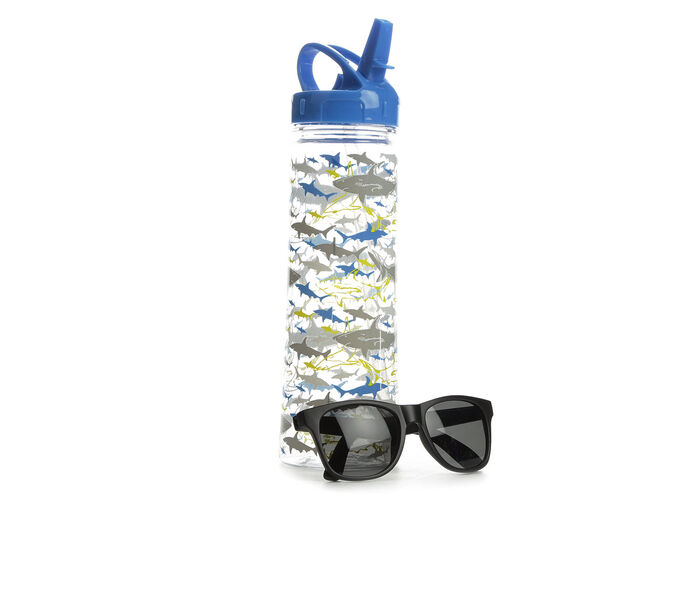 Capelli New York Water Bottle and Sunglasses Set