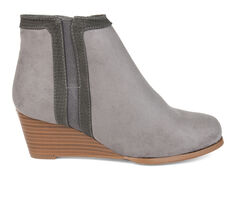 Women's Journee Collection Padme Wedge Booties