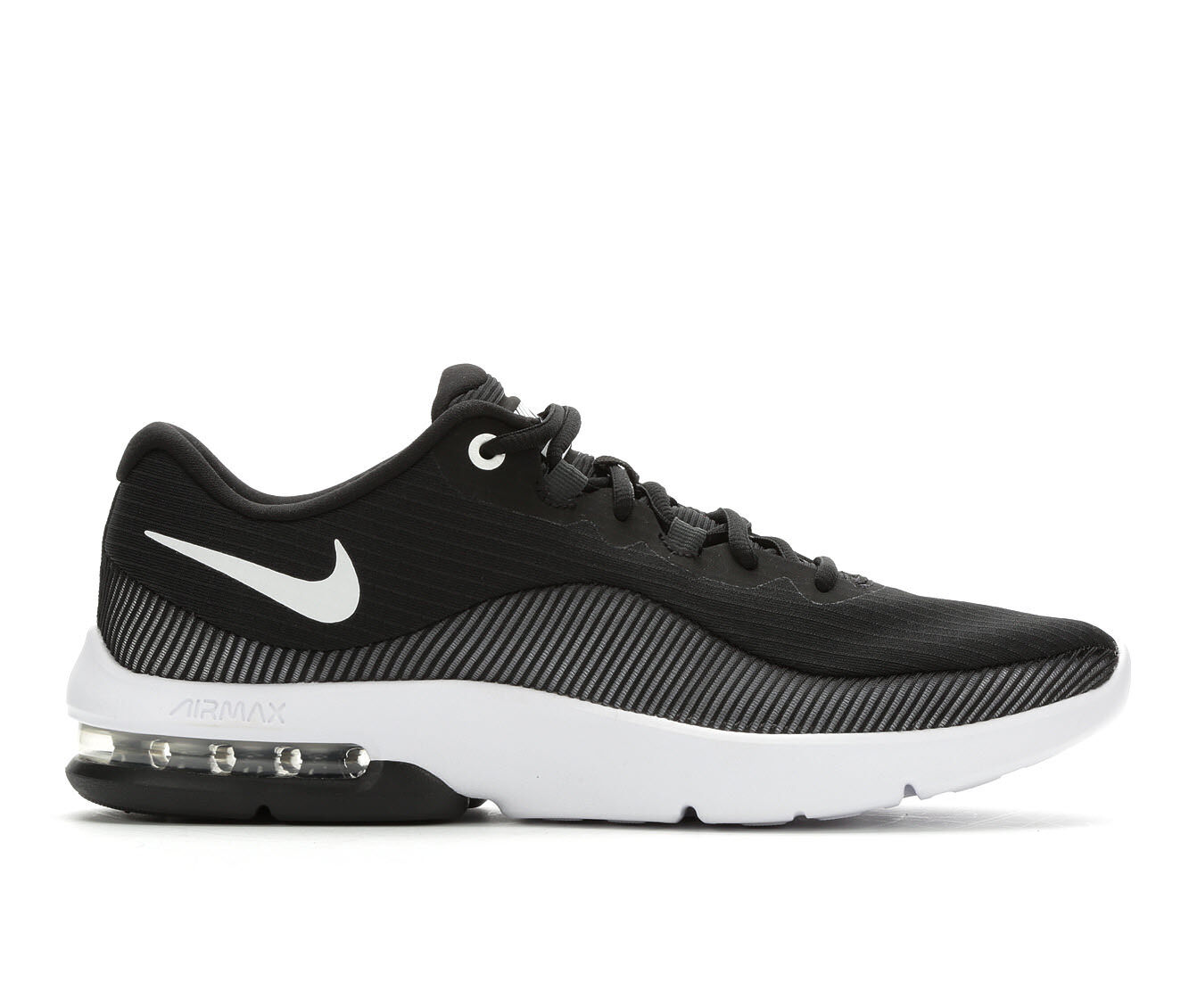 Authentic Store Men's Nike Air Max Advantage 2 Running Shoes Black/White