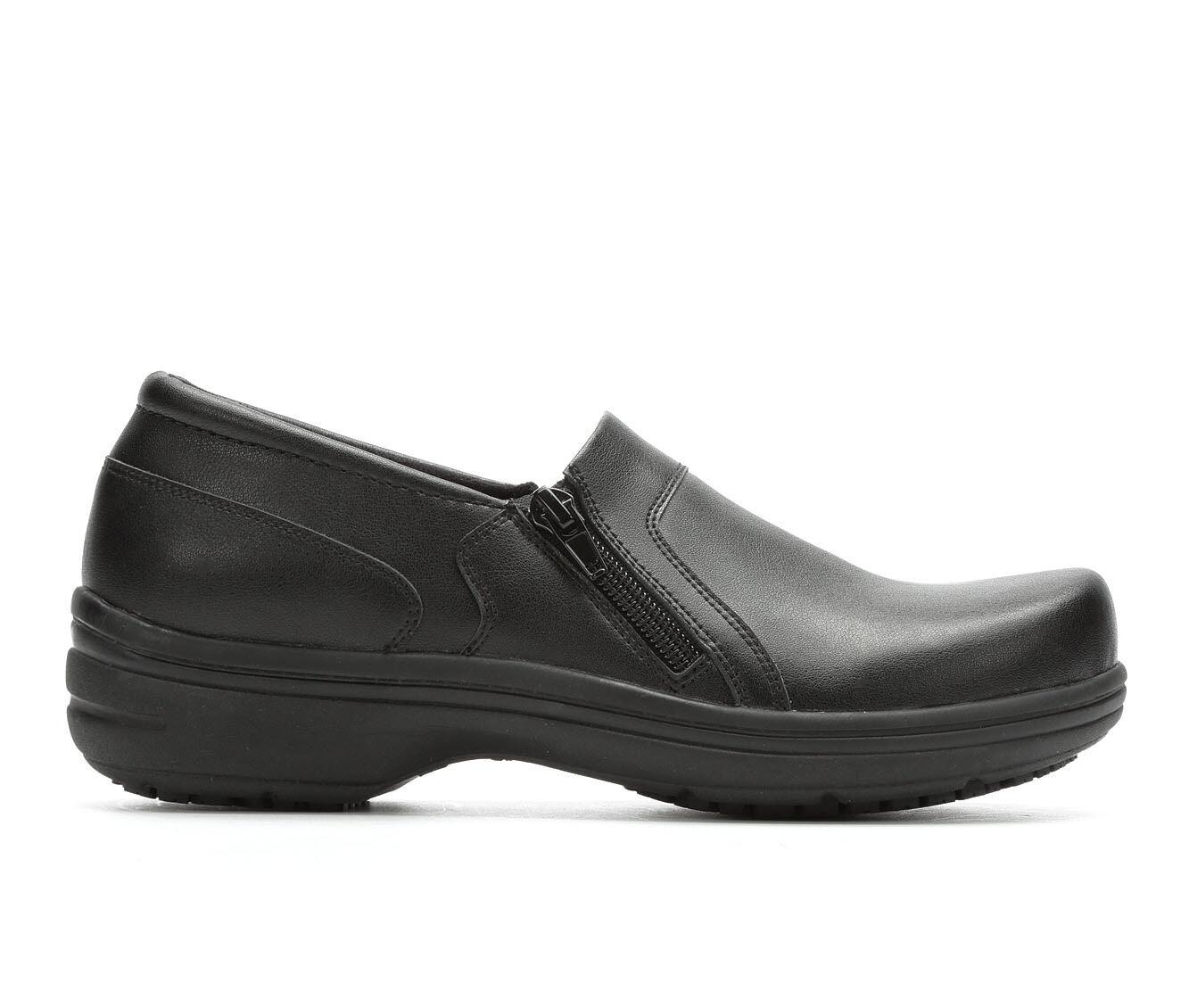 Women's Easy Works by Easy Street Bentley Slip-Resistant Black