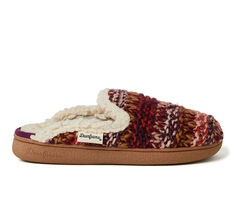 Dearfoams Erin Chunky Knit Scuff Slippers
