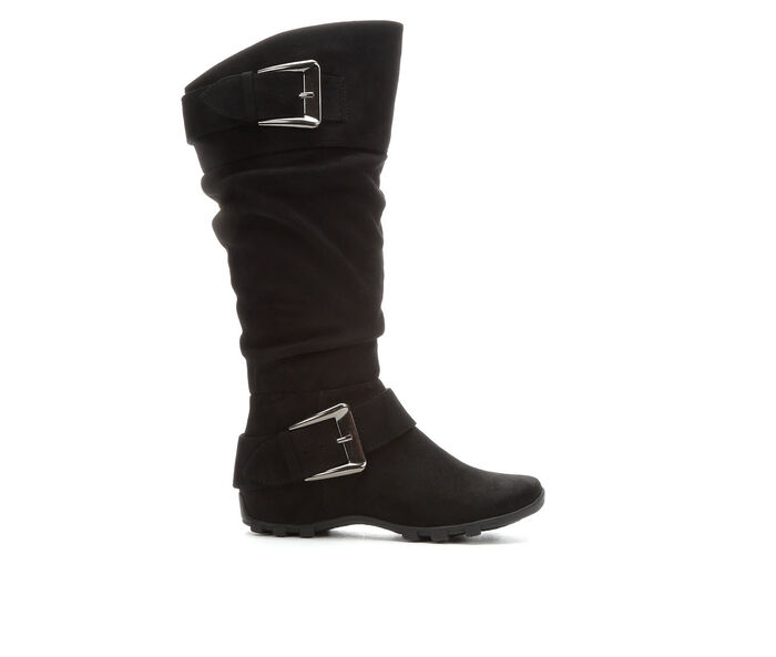 Women's Unr8ed Skarlette Knee High Ruched Boots