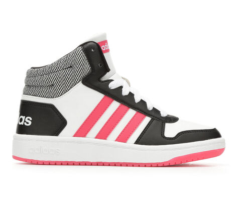 Girls' Adidas Hoops Mid 2 K Girls 10.5-7 Sneakers