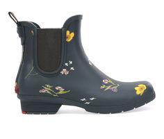 Women's Chooka Flower Press Chelsea Rain Boots