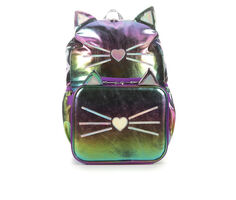 Accessory Innovations Shiny Kitty 2 Piece Backpack & Lunch Bag Combo Set