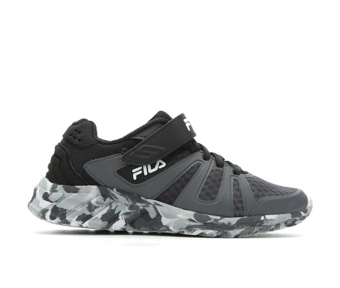 Boys' Fila Little Kid & Big Kid Cryptonic 6 Strap Running Shoes