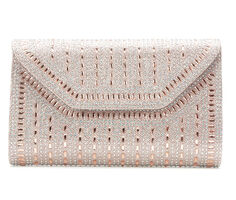 LLorraine Large Rock Candy Evening Clutch
