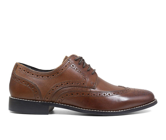 Men's Nunn Bush Nelson Wingtip Oxford Dress Shoes