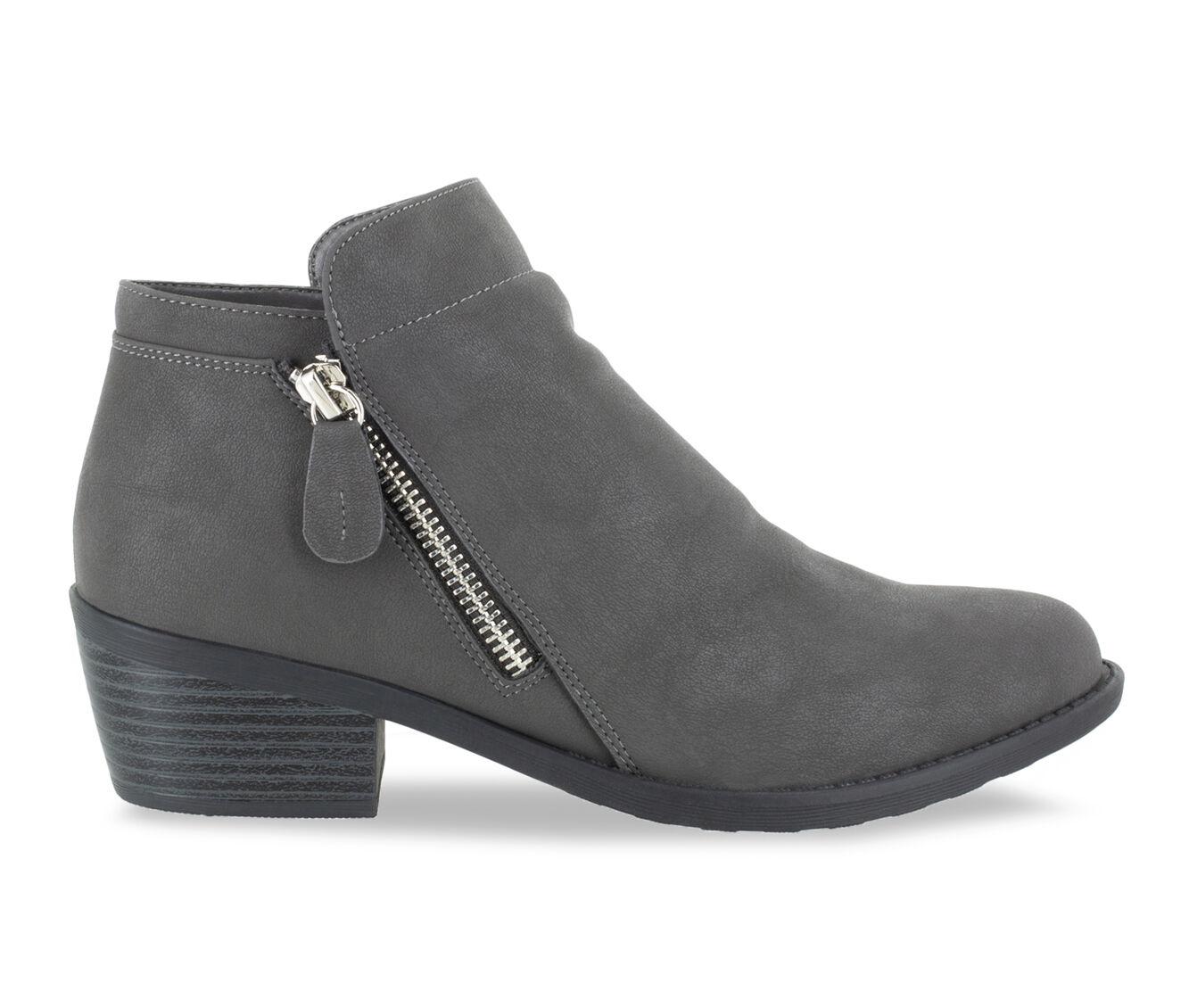 Women's Easy Street Gusto Booties Grey Matte
