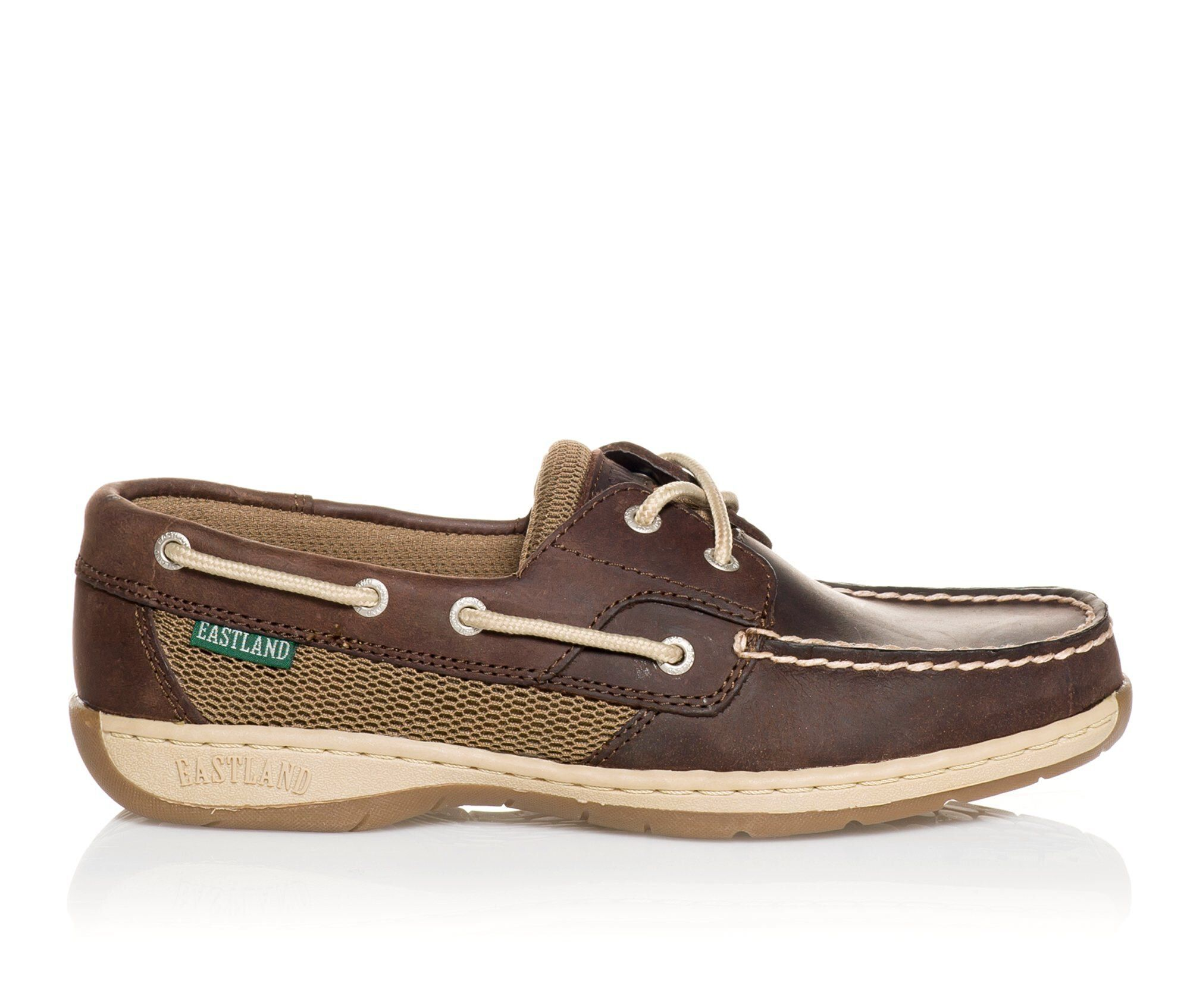 Women's Eastland Solstice Boat Shoes Bomber Brown