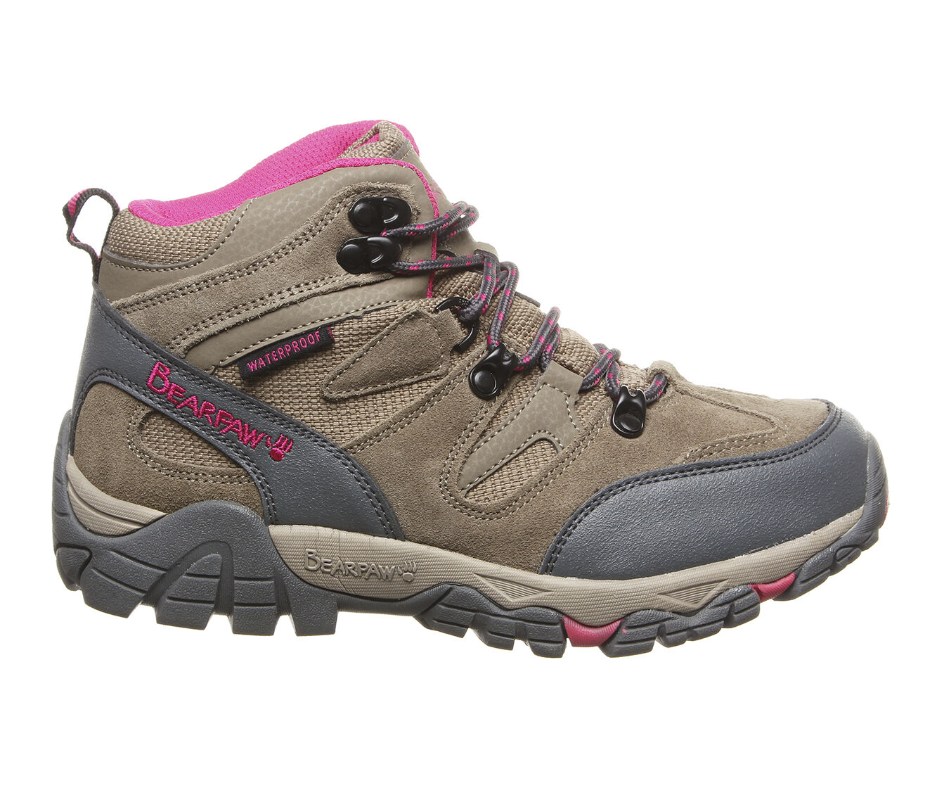 Women's Bearpaw Corsica Hiking Boots Taupe