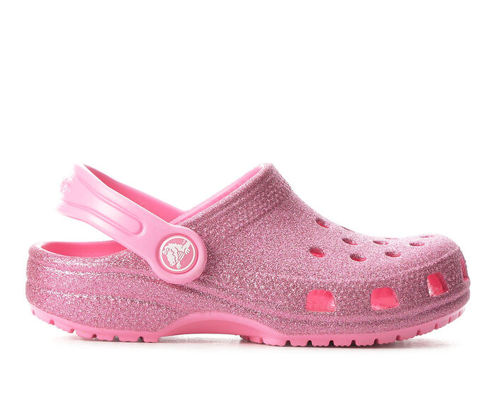 Girls' Crocs Little Kid Classic Glitter Clogs