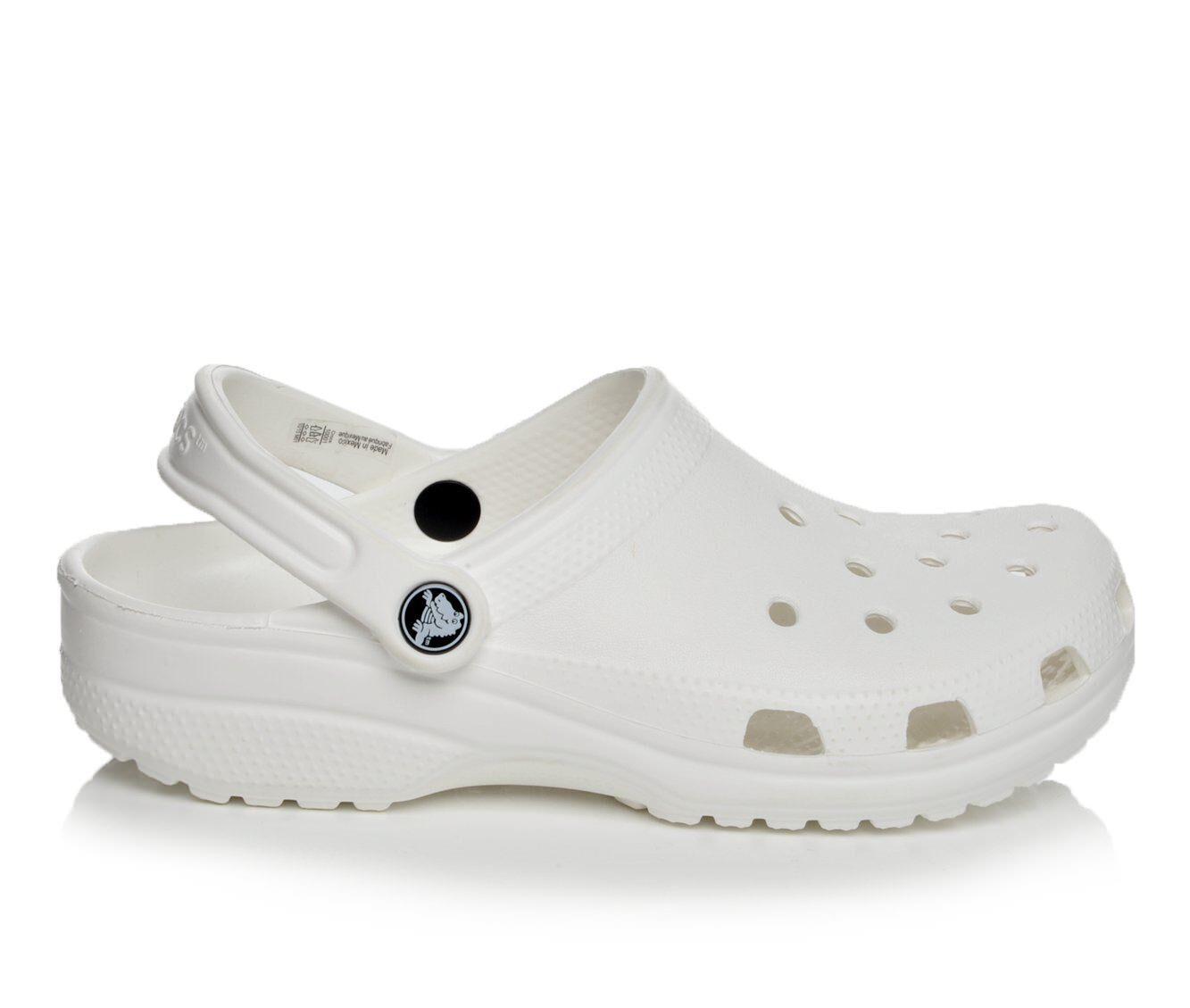 Women's Crocs Classic Clogs White