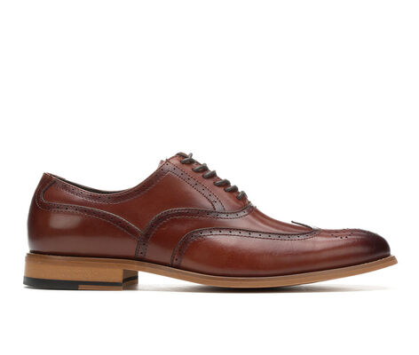 Men's Stacy Adams Dunbar Wing Tip Dress Shoes