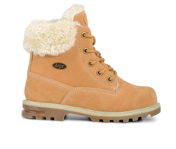 Boys' Lugz Big Kid Empire Hi Faux Fur Boots