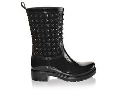 Women's Capelli New York Studded Opaque Rain Boots