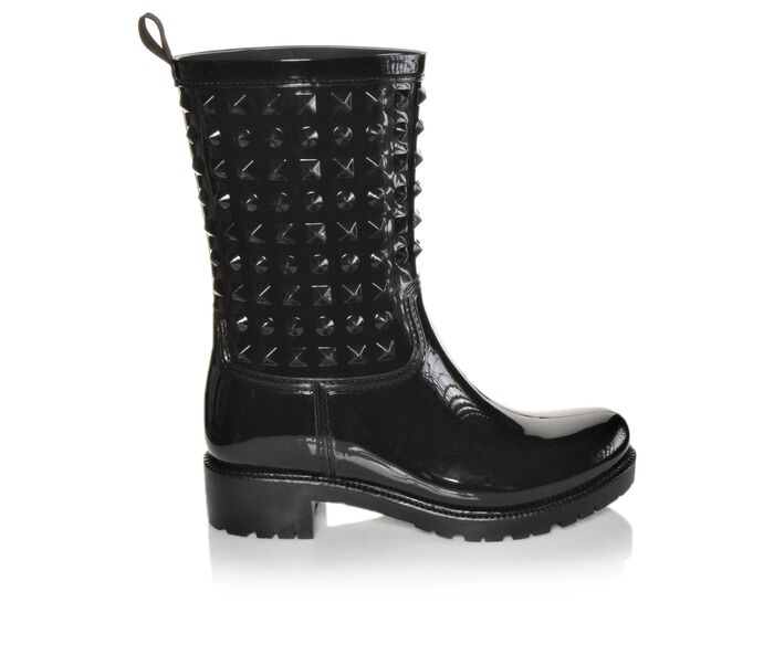 Women's Capelli New York Studded Opaque Rain Boots