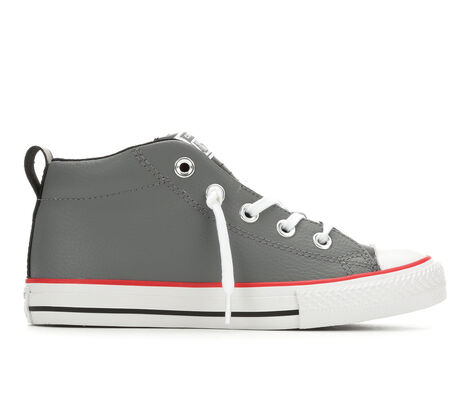 Boys' Converse CTAS Street Mid Leather Sneakers