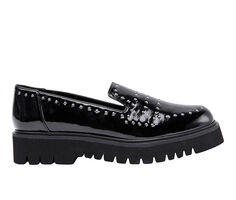 Women's Jane And The Shoe Elena Lugged Loafers