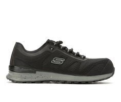 Men's Skechers Work Bulkin 77180 Composite Toe Work Shoes
