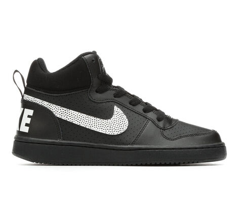 Kids' Nike Court Borough Mid Print SE 3.5-7 Sneakers
