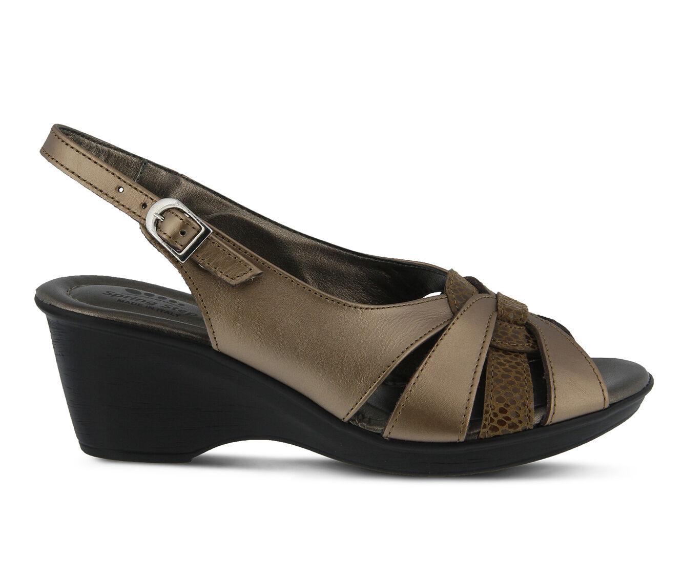 buyt new Women's SPRING STEP Adorable Dress Sandals Bronze