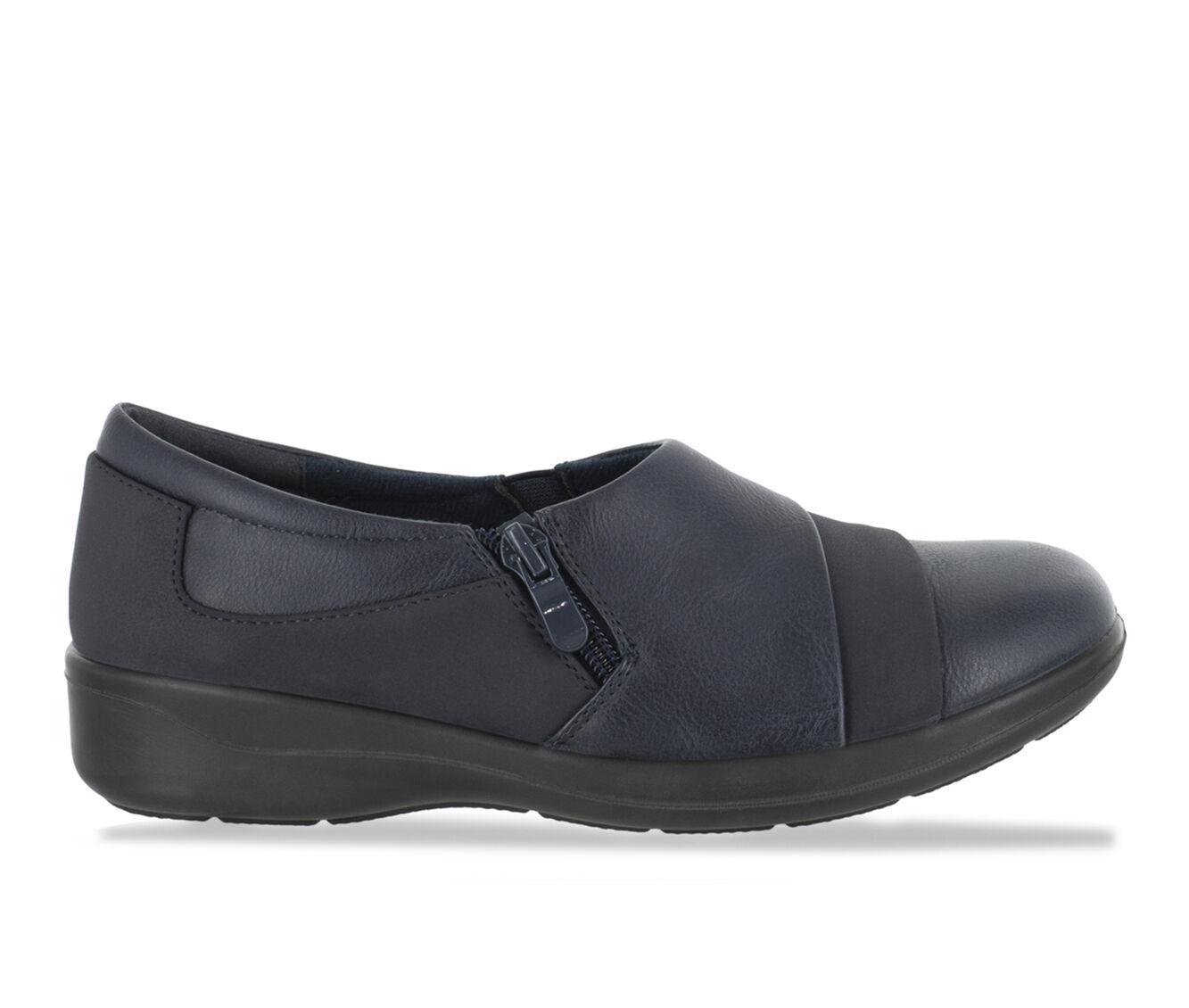Women's Easy Street Gavyn Shoes Navy/Combo