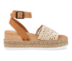 Women's Journee Collection Lizette Espadrille Wedge Sandals