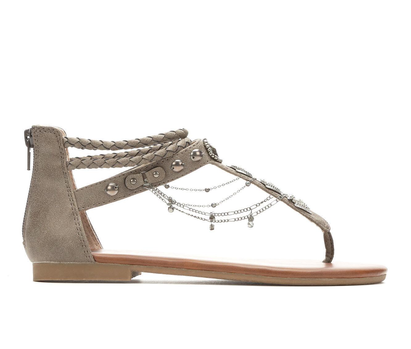 new style Women's Jellypop Cava Flat Sandals Slate