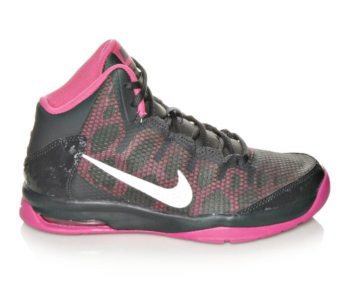 Girls' Nike Without A Doubt 3.5-7 Basketball Shoes