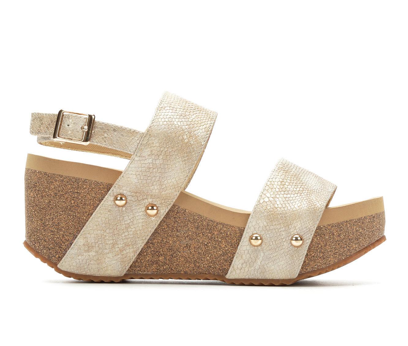 Women's Volatile Windsor Wedge Sandals Gold