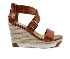 Women's Jane And The Shoe Irma Platform Espadrille Wedges