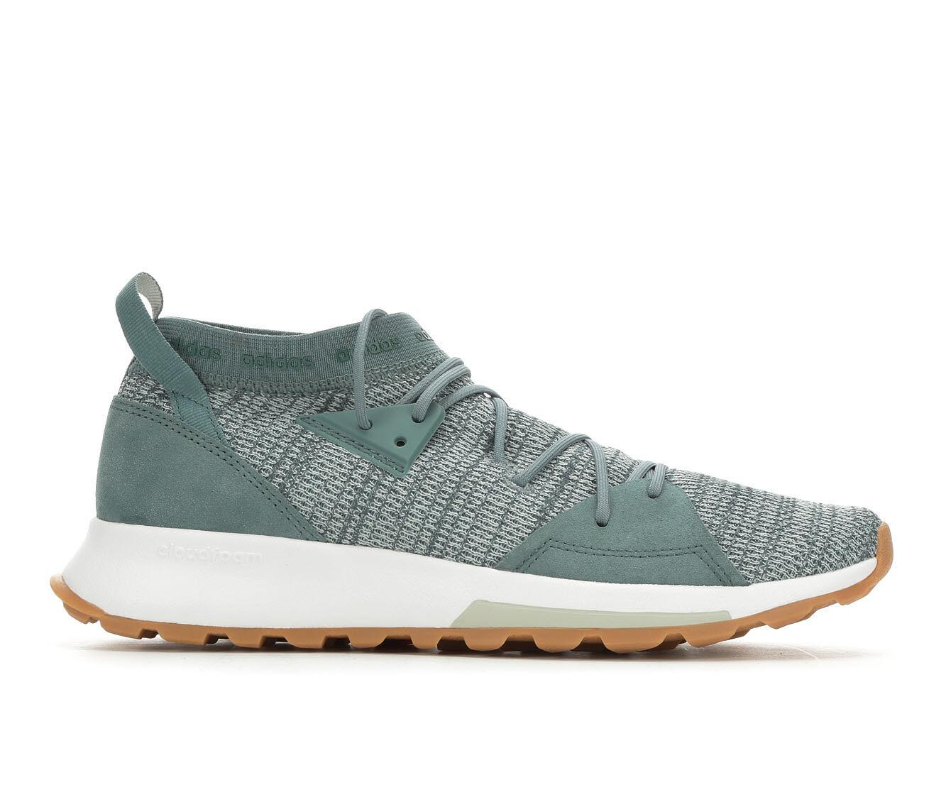 Women's Adidas Cloudfoam Quesa Slip-On Sneakers Green/Silv/Wht