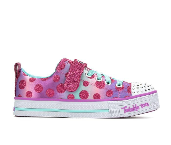 Girls' Skechers Little Kid & Big Kid Dainty Dots Light-Up Sneakers