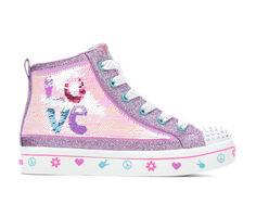 Girls' Skechers Little Kid & Big Kid Twi-Lite Love 2.0 Twinkle Toes Flip Kicks