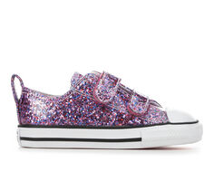 Girls' Converse Infant & Toddler Chuck Taylor All Star Glitter 2V Sneakers