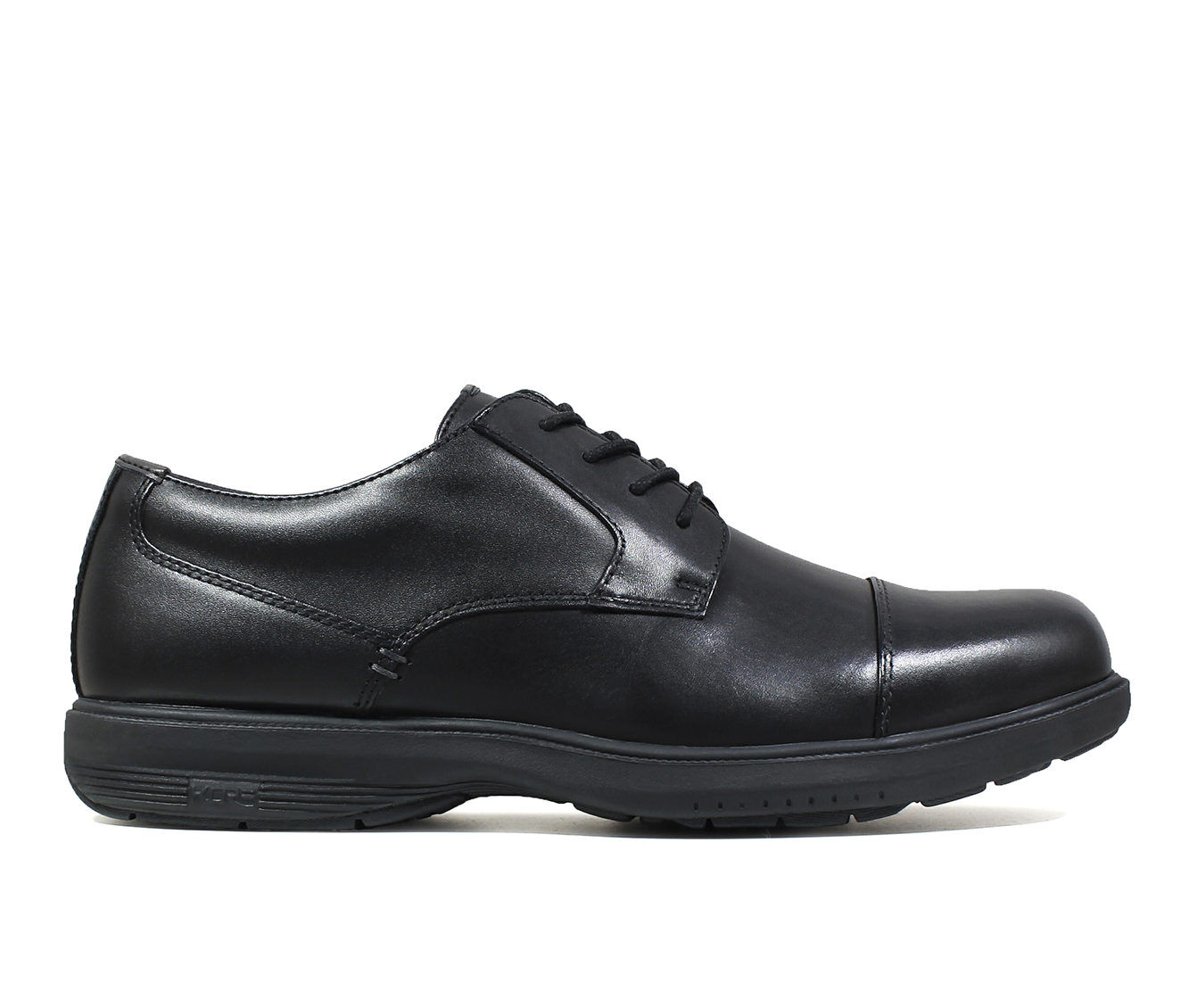 Men's Nunn Bush Melvin Street Cap Toe Oxfords Black