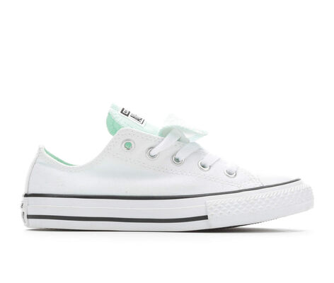 Girls' Converse CTAS Double Tongue Ox 10.5-6 Sneakers